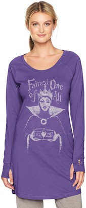 Munki Munki Women's Long Sleeve Nightshirt Sleepwear