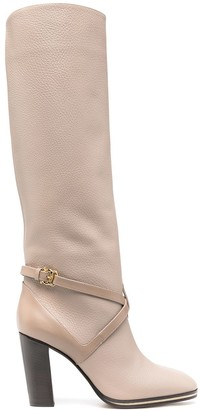 Pollini Over-The-Knee Knight Boots