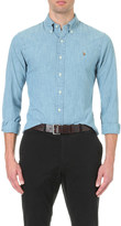 Polo Ralph Lauren Slim-fit single-cuff denim shirt