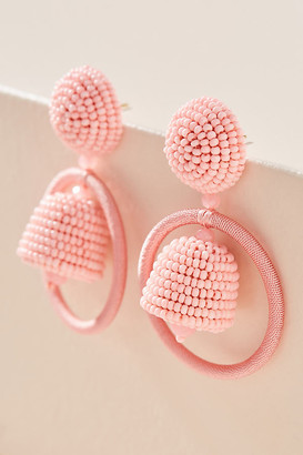 Sachin + Babi Palmer Drop Earrings By in Pink Size ALL