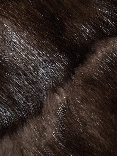 Thumbnail for your product : The Fur Salon Hooded Sable Fur Coat
