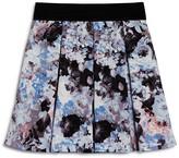 Aqua Girls' Floral Pleated Skirt, Big Kid - 100% Exclusive