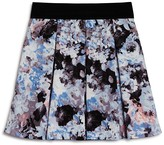 Aqua Girls' Floral Pleated Skirt - Sizes S-XL - 100% Exclusive