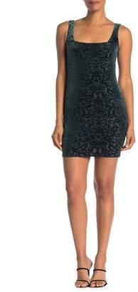 Jump Sleeveless Velvet Burnout Dress