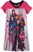Disney Disney's Descendants Girls 7-14 Dorm Nightgown