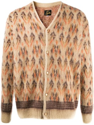 Needles Navajo Print Knitted Cardigan