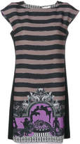 Versace Ortensia print mini dress