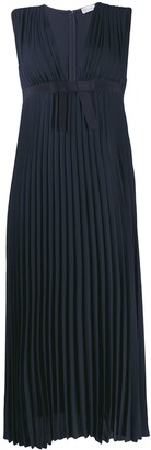 RED Valentino Pleated Midi Dress