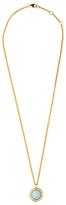Dyrberg/Kern Dyrberg Kern Round Crystal Set Pendant Necklace