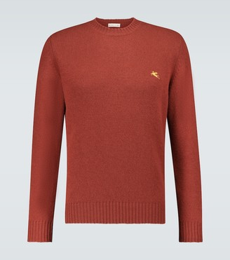 Etro Multi-yarn crewneck sweater