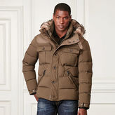 Ralph Lauren Purple Label Rydens Paneled Down Jacket