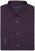 Perry Ellis Tonal Horizontal Stripe Dobby Shirt