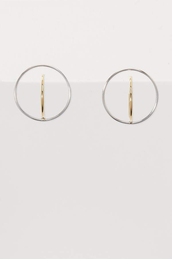 Charlotte Chesnais Saturn medium earrings