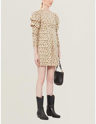 Zadig & Voltaire Rename floral-print cotton-poplin mini dress
