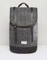 Asos Backpack In Harris Tweed