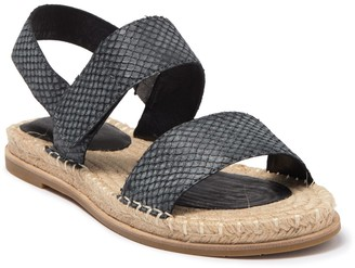 Eileen Fisher Max Leather Espadrille Sandal