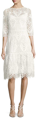 Temperley London Lace Sheath Dress
