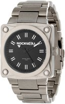 Rockwell Men's SF102 Men 747 Stainless Steel Silver and Black Watch