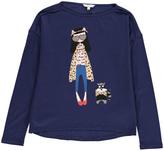 Little Marc Jacobs Miss Marc Print T-Shirt