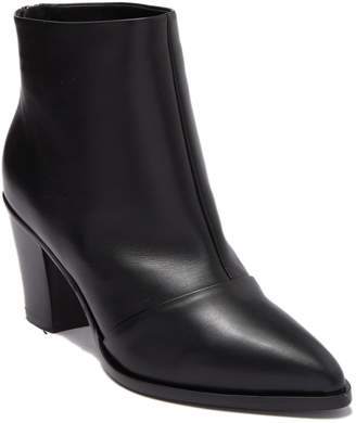 Alberto Fermani Pointed Toe Leather Ankle Boot