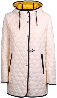 Fay Quilted Hooded Jacket