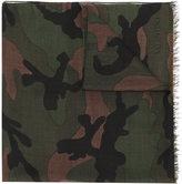 Valentino camouflage scarf - men - Silk/Modal/Cashmere - One Size