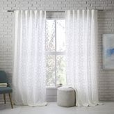 Sheer Lattice Curtain