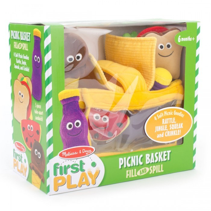 Melissa & Doug Fill And Spill Picnic Basket