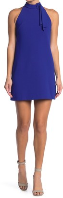 Vince Camuto Kors Crepe Shift Dress (Petite)