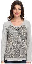 Hale Bob Uptown Lace Sweatshirt