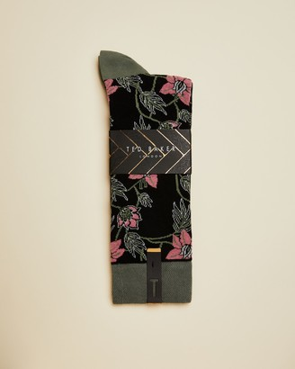 Ted Baker SKERLER Floral cotton blend sock