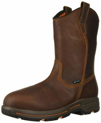 Timberland Men's Helix HD Pull On Soft Toe Waterproof Industrial Boot