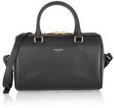 Saint Laurent Classic Duffle Mini Leather Bag - Black