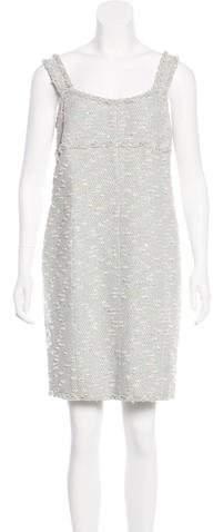Chanel Sequined Tweed Dress