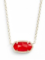 Kendra Scott Women's Elisa Birthstone Pendant Necklace