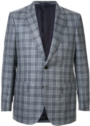 Gieves & Hawkes Formal Plaid Blazer