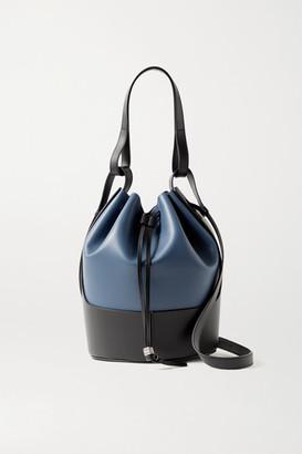 Loewe Balloon Medium Leather Bucket Bag - Navy