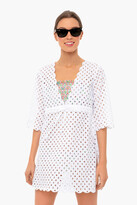 Tory Burch White Broderie Anglais Beach Tunic
