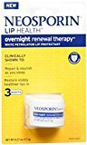 Neosporin Lip Health Overnight Renewal Therapy 0.27 oz (Pack of 7)