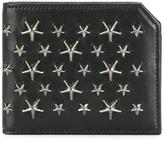 Jimmy Choo Albany billfold wallet - men - Calf Leather - One Size