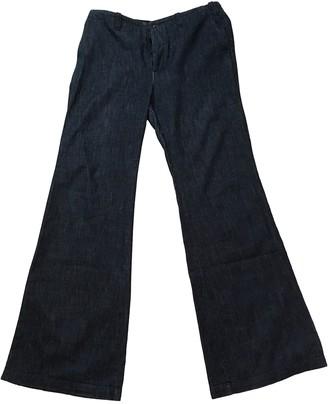 Joseph Navy Cotton Jeans