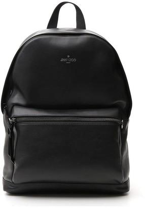 Jimmy Choo Wilmer Logo Backpack