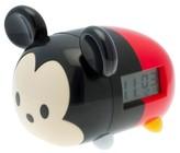 BulbBotz Disney Tsum Tsum Mickey 7.5 in Light-up Alarm Clock - Red