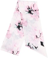 Alexandre Vauthier abstract print thin scarf