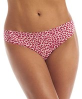 Calvin Klein Women's Printed Invisibles Thong Panty