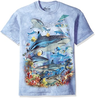 The Mountain Reef Sharks Adult T-Shirt