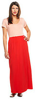 Isaac Mizrahi Live! Regular Color-block Knit Maxi Dress
