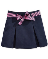 Nautica Uniform Contrast-Ribbon Scooter Skirt, Girls