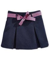Nautica Uniform Contrast-Ribbon Scooter Skirt, Plus Girls