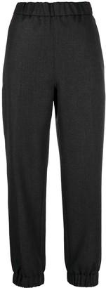 Ganni High-Waisted Track Pants